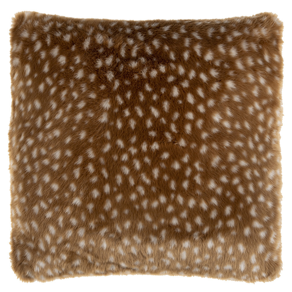 Spencer Faux Antelope Pillow - AEP-001 20 x 20 inches Polyester