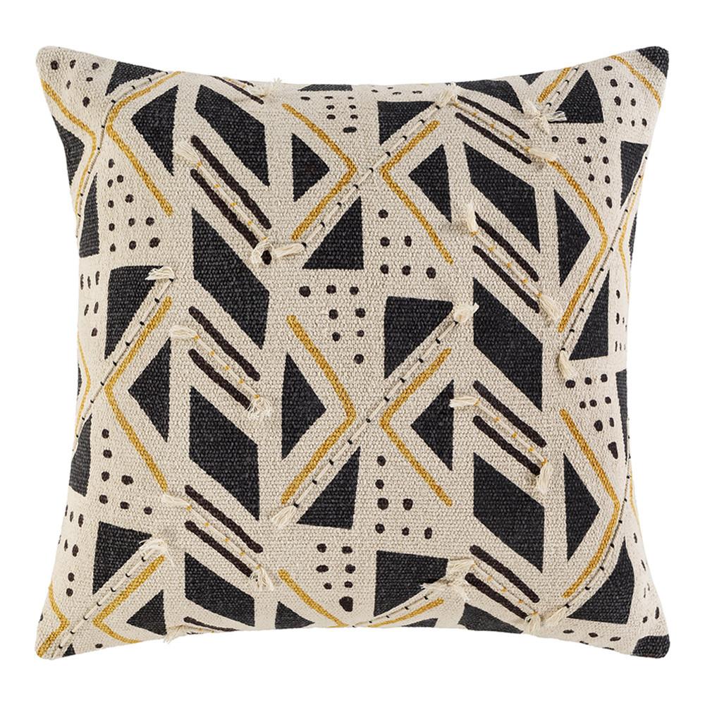 Binga Pillow - BGA-001 20 x 20 inches Cotton