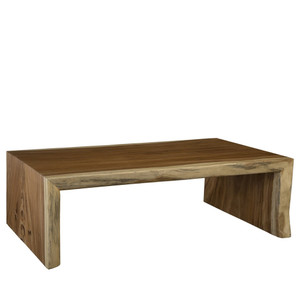 Hawthorne Cocktail Table 54 x 29 x 17 H Inches Chamcha Wood