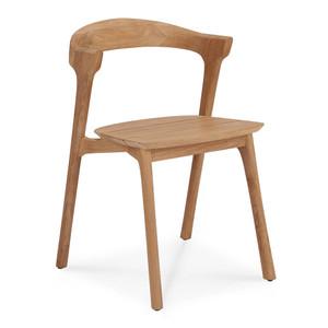 Teak Bok Outdoor Dining Chair 20 x 21.5 x 30 H inches Teak Wood