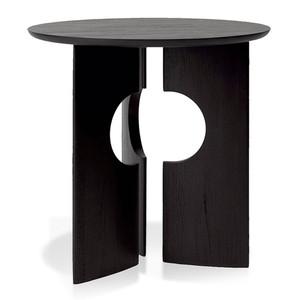 Teak Cove Side Table 20 dia x 20 H inches Teak Wood