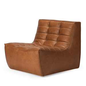 N701 One Seat Sofa 31.5 x 36 x 30 H inches, 17 inch seat height Leather