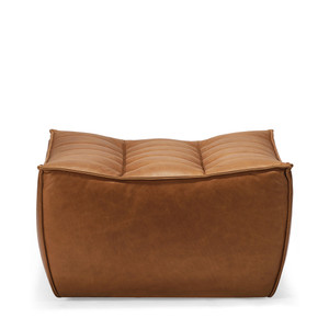 N701 Sofa Footstool- 20081 28 x 28 x 17 H inches Leather