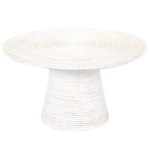 Balinese Coffee Table- BAS-002 32 dia  x 18 H inches Rattan