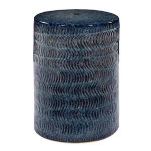 Aceno Ceramic Garden Stool- FAH-001 13 dia  x 18 H inches Ceramic