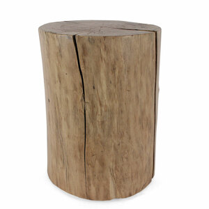 Pale Rider Cottonwood Stump Table 15 diameter x 20 H inches