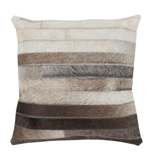 Big Sky Hide Pillow - TR-002 18 x 18 inches Cowhide