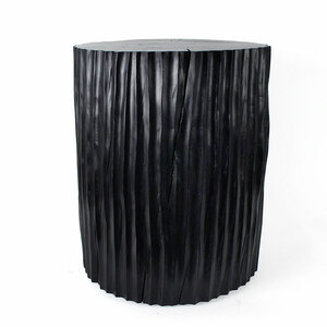 Columna Table Custom - 16 dia x 20 H inches Ebony Finish