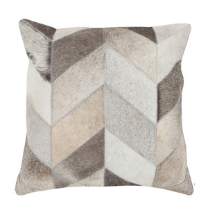Hair-on Herringbone Pillow - TR-003 18 x 18 inches Cowhide