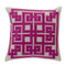 Corfu Pillow - LD-002 18 x 18 inches Linen Style F