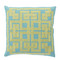 Corfu Pillow - LD-002 18 x 18 inches Linen Style B