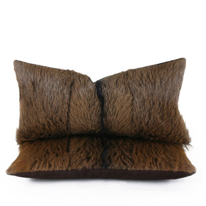 Country Goat Pillow 9 x 18 inches