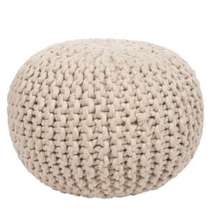 Bar Harbor Wool Pouf - POUF-78 18 diameter x 12 H inches Wool