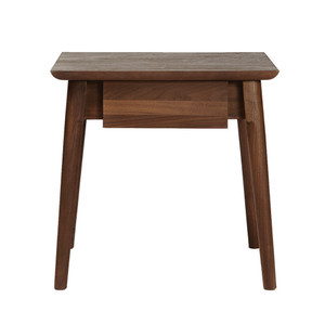 Between Beds Drawer Table 18 x 14 x 18 H inches American Black Walnut