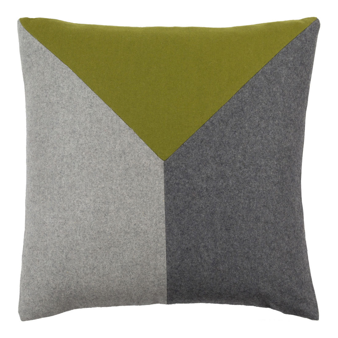 VM Felted Pillow - JH-001 18 x 18 inches Wool, Viscose Style A
