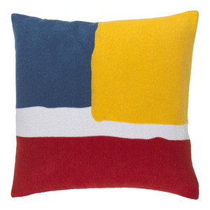 Modern Art Pillow - HV-002 18 x 18 inches Cotton Style A