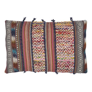 Boho Chic Bohème Pillow - MR-001 14 x 22 inches Polyester