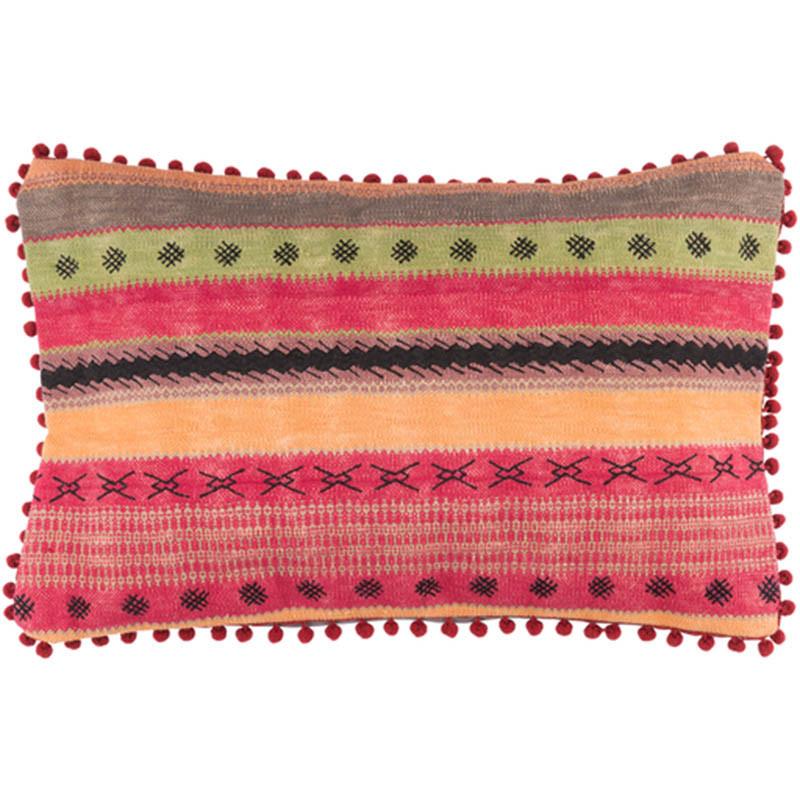 Boho Chic Braveheart Pillow - MR-003 14 x 20 inches Cotton