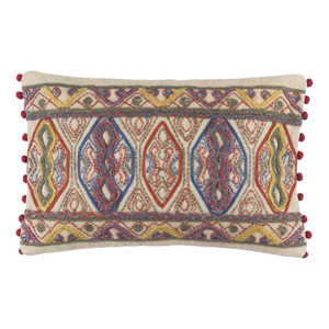 Boho Chic Spirit Pillow - MR-005 14 x 22 inches Cotton