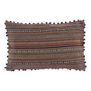 Boho Chic Gypsy Pillow - MR-007 14 x 22 inches Polyester