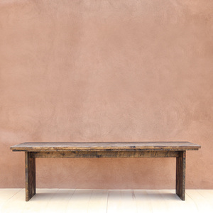 Algodones Farm Table 36 x 96 x 30 H inches Dark Walnut Finish