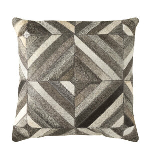 Geometrik Hide Pillow - LCN-001 18 x 18 inches Cowhide