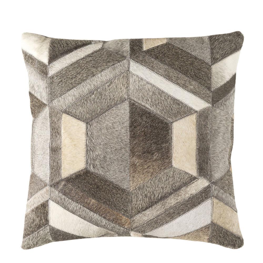 Diamond Hide Pillow - LCN-002 18 x 18 inches Cowhide