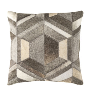 Diamond Hide Pillow - LCN-002 18 x 18 inches Cowhide