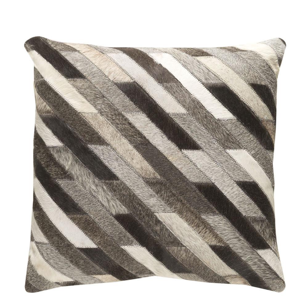 Diagonalo Hide Pillow - LCN-003 18 x 18 inches Cowhide