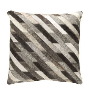 Diagonalo Hide Pillow - LCN-003 18 x 18 inches Cowhide