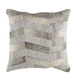 Silver Lake Cowhide Pillow - MOD-001 18 x 18 inches Cowhide