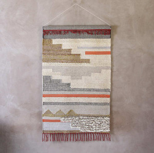 Aztec Woven Wall Hanging - RO-2003 36 x 60 inches Wool, Cotton