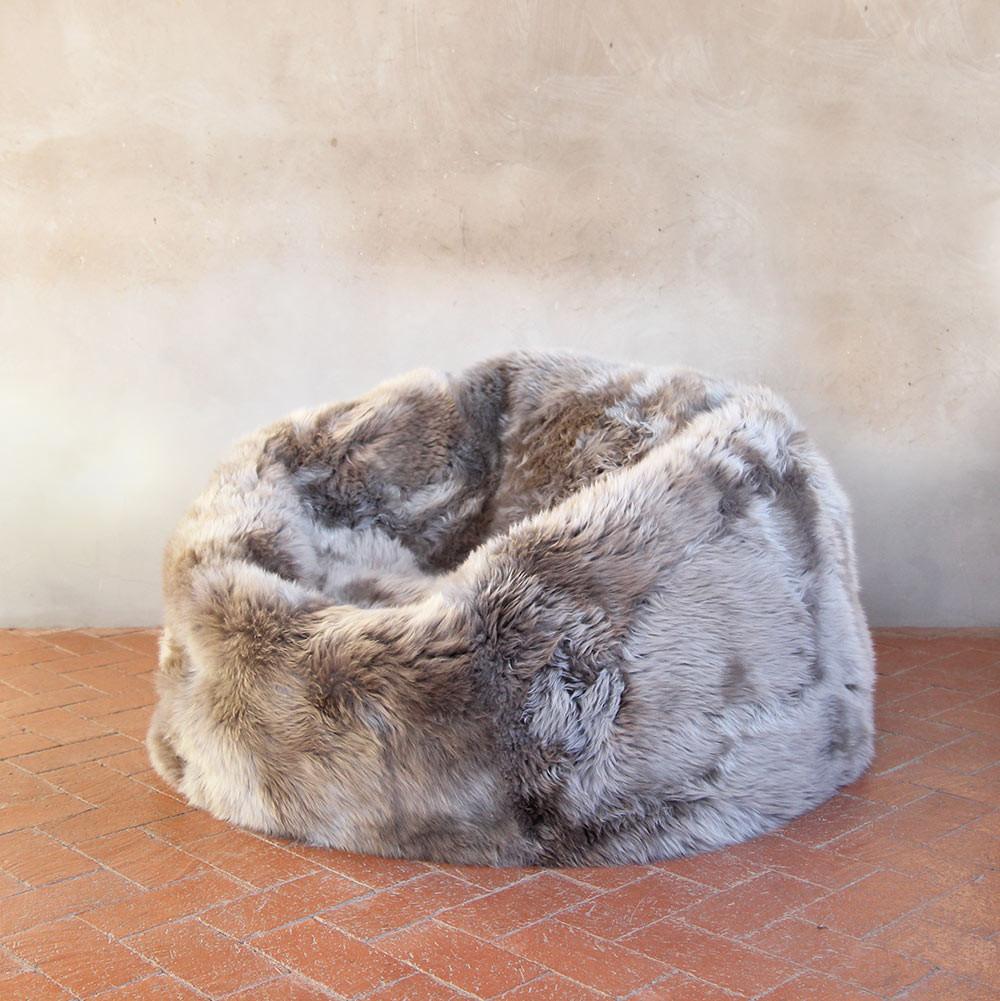 Sheepskin Bean Bag 36 dia inches Vole