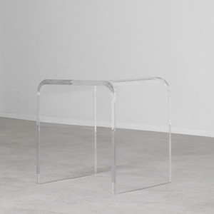 Bel Air Acrylic Side Table - AC-ST-1 20 x 16 x 20 H inches