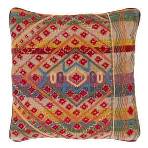 South Seas Stitched Pillow - MOP-001 18 x 18 inches Cotton