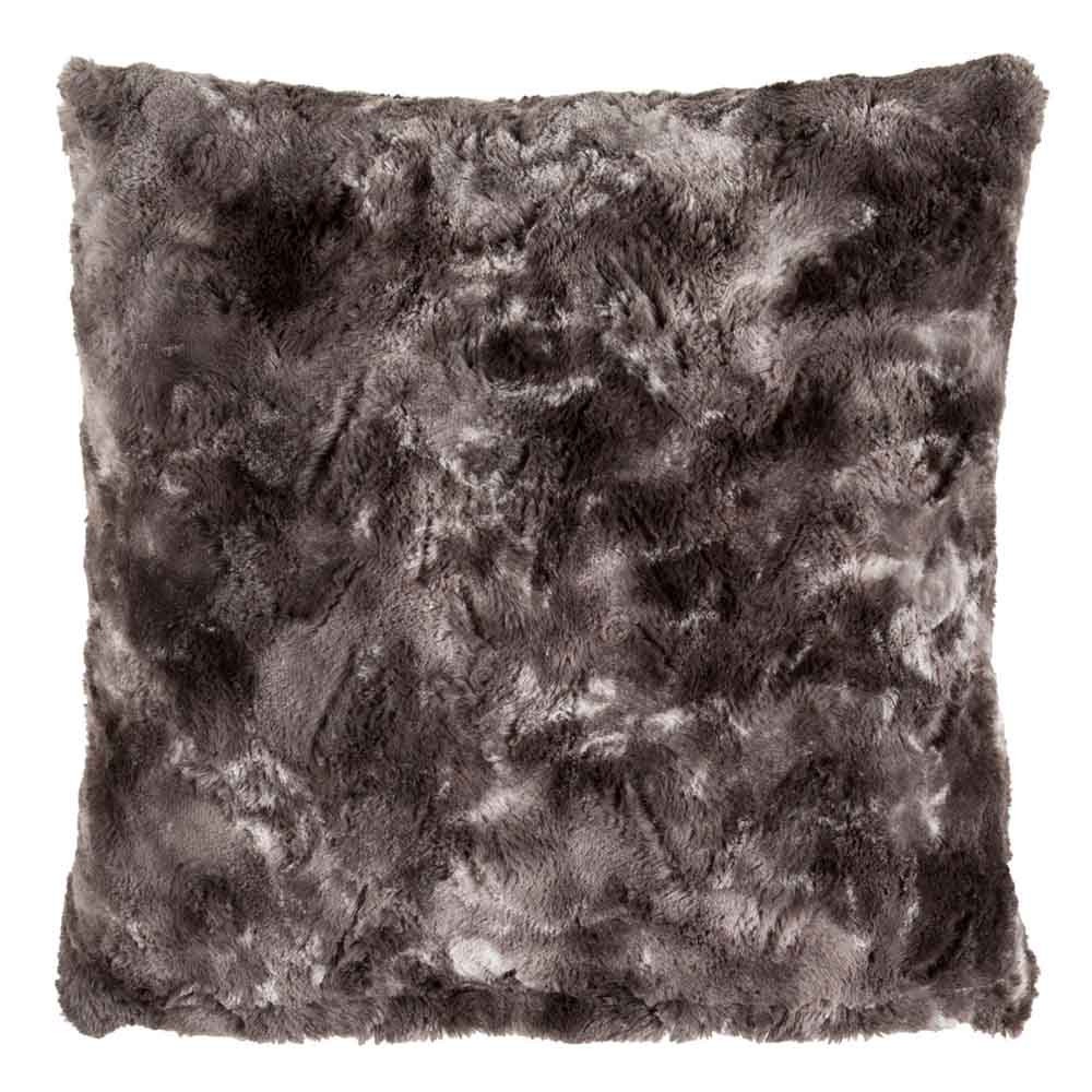 Zhivago Faux Fur Pillow - FLA-001 18 x 18 inches Polyester