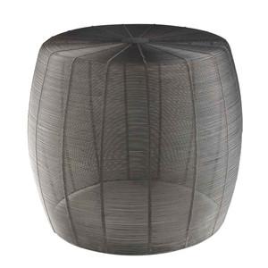 Timpani Wire Side Table - ROR-002 18.5 dia x 16 H inches (Seat 15.5 dia inches) Iron
