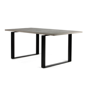 Alps Dining Table 78.75 x 35.5 x 30 H inches Concrete, Steel
