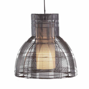 Urban Pendant Lamp 17.75 diameter x 18 H inches Galvanized Iron Wire