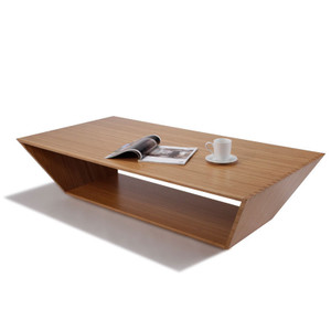 Ark Coffee Table 26.5 x 60 x 14 H inches Sustainable Bamboo Caramelized