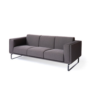 Atomica Sofa 83.5 x 34.25 x 29 H inches Polyester , Steel
