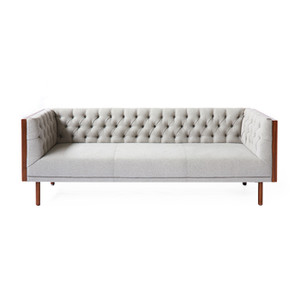 Beyond Sofa 81.5 x 30.5 x 27.25 H inches Polyester, Walnut