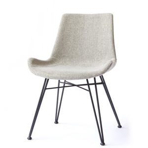 Hearst Dining Chair 23.5 x 20.5 x 32 H inches Polyester, Steel