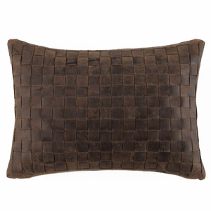 Easy Rider Pillow 10 x 18 inches Leather
