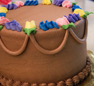 "7"" Chocolate Double Layered Cake"