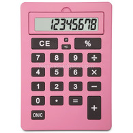 Liyo Very Big Calculator, Pink