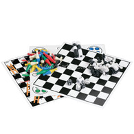 Sutter 7 Traditional Game Magnetic Travel Set in Blue