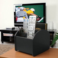 Ruy TV Remote Control Caddy, Black