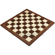 Apia 20 Inch Tournament Chess Board in Walnut Wood, BOARD ONLY