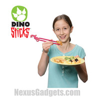 Dino Sticks Dinosaur Chopsticks, SET OF 8